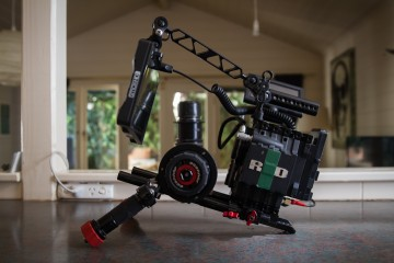 Shoulder Rig - The Red Epic Set Up