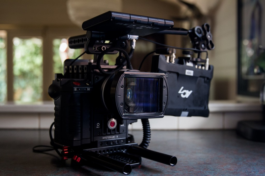 RED Epic Anamorphic - Shou