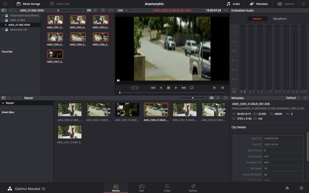 DAVINCI RESOLVE & ANAMORPHICS