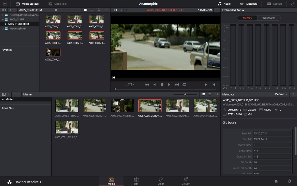DaVinci Resolve Anamorphics: Proper Display