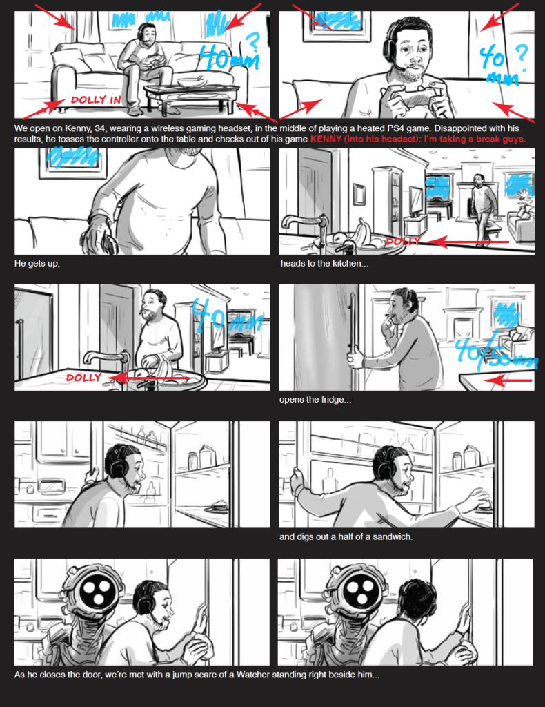 Jon Chema - Story Board